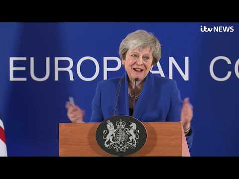 Live: Theresa May answers questions after EU leaders endorse Brexit deal l | ITV News