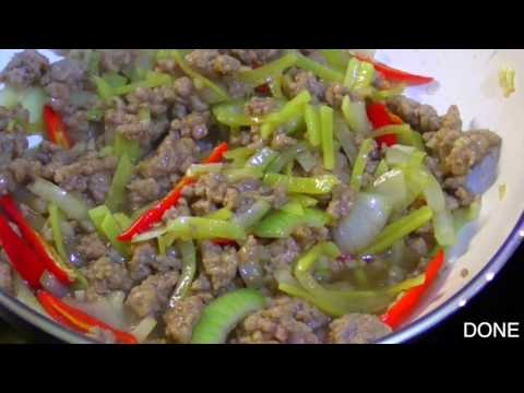 Quick & Easy Ground Pork With Ginger Recipe