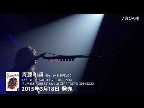 """斉藤和義 - """"RUMBLE HORSES"""" Live at ZEPP TOKYO 2014.12.12 [Trailer]"""