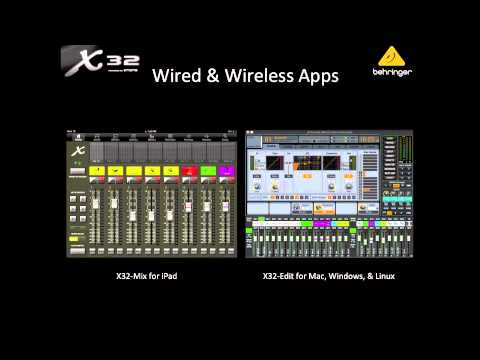 X32 Live! Webinar: X32 COMPACT & The New X32 Family.