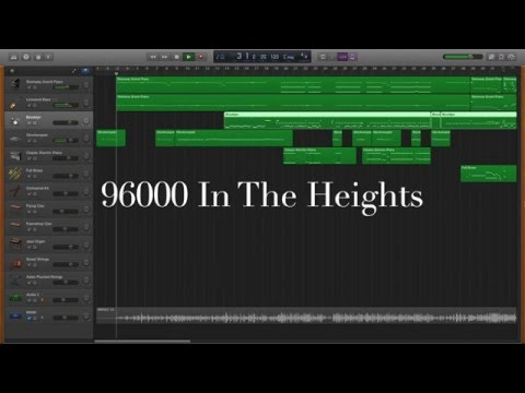 96000 In The Heights Instrumental