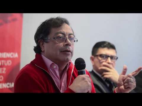 """Intervención de Gustavo Petro en el Segundo Green Lunch: """"Postconflicto y Medio Ambiente"""""""