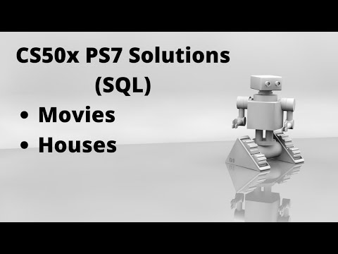 CS50 PSET7 Movies, Houses SQL Solutions