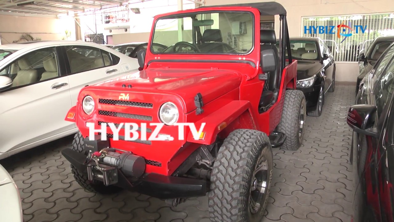 Pre-Owned RM Jeep | Used Cars-Second Hand Cars-Banjara Hills Hyderabad |  hybiz