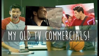 REACTING TO MY OLD TV COMMERCIALS