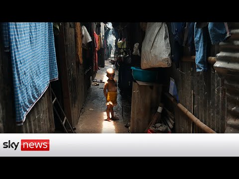 Inside a Dhaka slum housing climate migrants