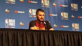 Kevin Love: Communication is key for the Cavs to get back into NBA Finals