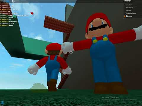 Blue Mario Roblox The Best Super Mario Odyssey Game In Roblox Youtube