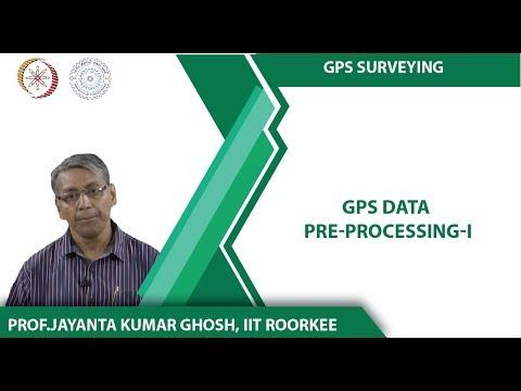 GPS Data Pre-Processing-I