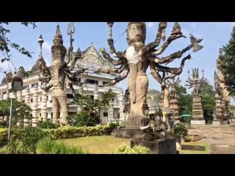 Vườn tượng Phật - Noong Khai, Thái Lan T10-2016
