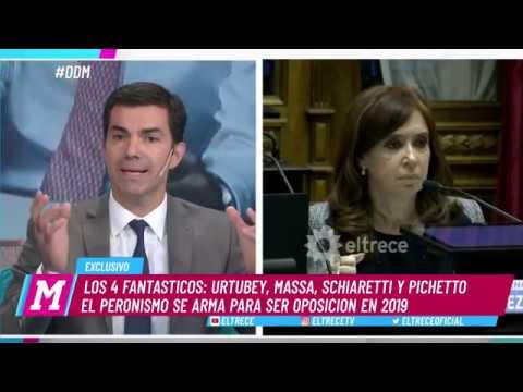 Urtubey, Massa, Schiaretti y Pichetto arman la oposición de Macri y Cristina para el 2019