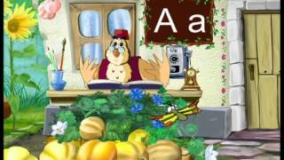 Абетка-малятко - Буква A (Уроки тетушки Совы) серия 1