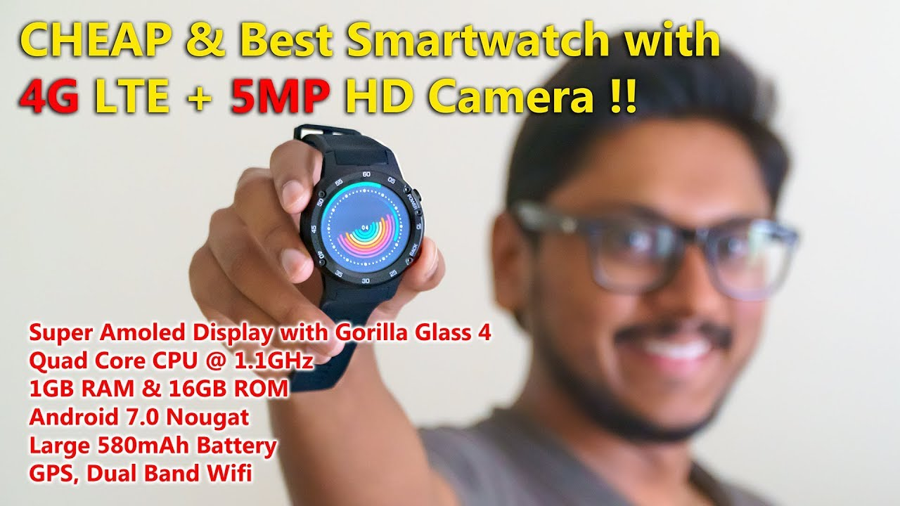 41340d71627 Cheap Android Smartwatch with 4G LTE   5MP HD Camera... - YouTube
