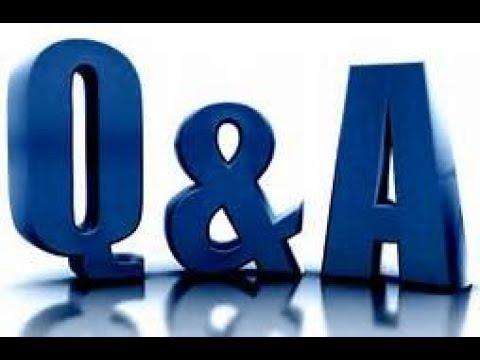 MOB TALK RADIO- Q & A #6  12/15/17