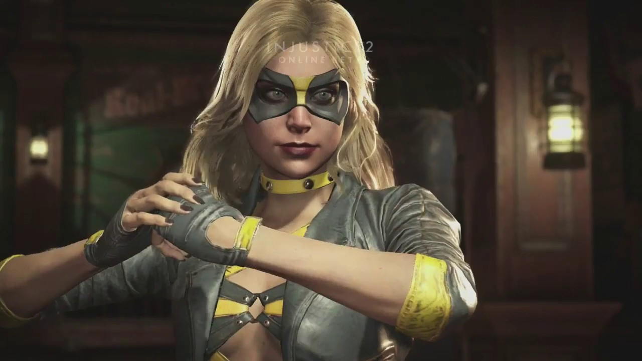 Injustice 2 Beta - All Black Canary Intro Dialogues - Youtube-3141