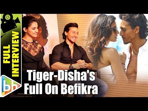 Tiger Shroff | Disha Patani | Befikra | Full Interview| Salman Khan | Hrithik Roshan | Ranveer Singh