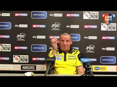 """Dave Chisnall: """"My head had gone at 8-7, I was so shocked Vincent didn't go for 81 on the bull"""""""