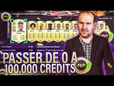 FIFA 21 0€ - PASSER DE 0 A 100 000 CREDITS ! LES MEILLEURS COMBOS DE TECH 59 !