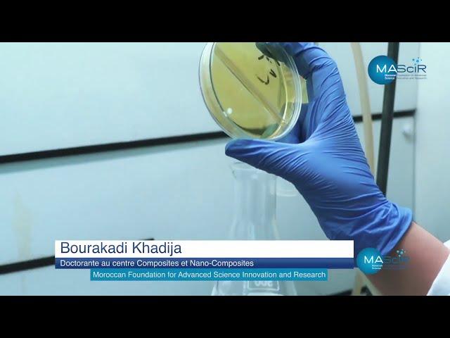 Fondation MAScIR - Développement de nouveaux matériaux à base de produits organiques