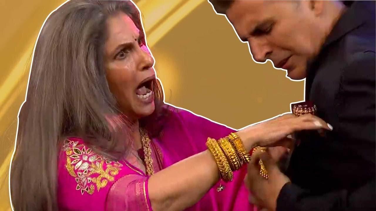 Download Akshay Kumar's epic prank on mom-in-law Dimple Kapadia