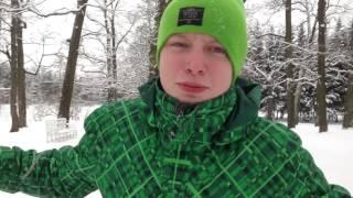 Видеоурок (обучение) по паркуру (на снегу)