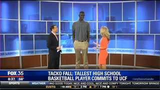 Tallest high school basketball player in nation commits to UCF