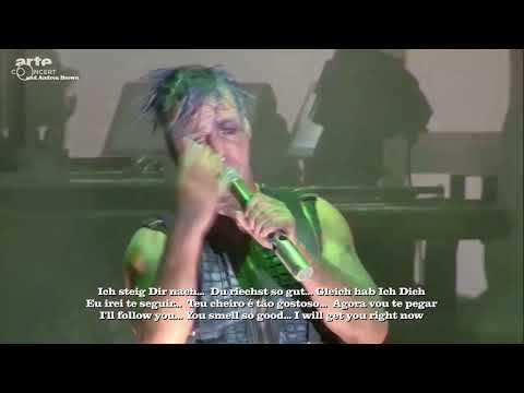 Rammstein live- Du riechst so gut Deutsch/Português/English lyrics
