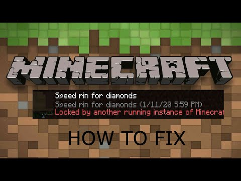 """How to fix """"Locked my another instance of Minecraft"""" 1.16 FIX - Doggy PLAYZ  (MAC ONLY)"""
