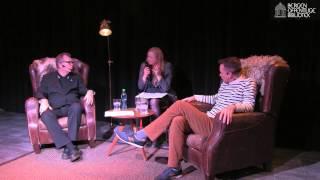 John Olav Nilsen og Frode Grytten i samtale