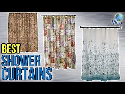 10 Best Shower Curtains 2017