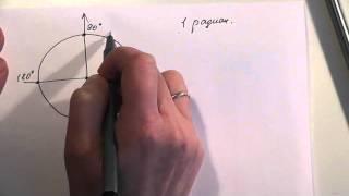 Тригонометрия. Радианная мера измерения углов