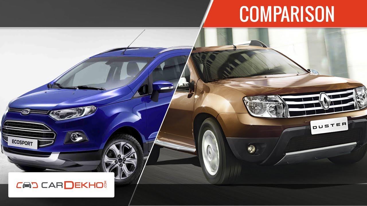 Ford Ecosport Vs Renault Duster | Comparison Review | CarDekho com