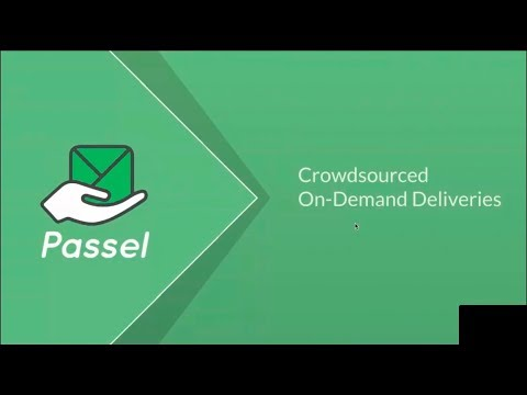 Passel - The First Crowdsourced Home Delivery Company