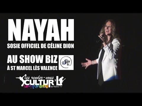 2017 12 22 Extrait de concert   NAYAH, sosie officiel de Céline Dion   Show Biz à St Marcel Lès Vale