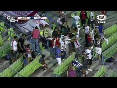 Caracas 2 - 1 Huracán Copa Libertadores 2016