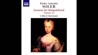Antonio Soler, Sonatas 130,121,63,67,125,44,307,79. Gilbert Rowland, clave