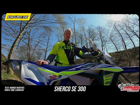 Test: SHERCO 300 SE FACTORY inkl. Interview mit Marcus Kehr