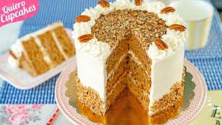 PASTEL COLIBRÍ  O HUMMINGBIRD CAKE  RECETA INFALIBLE  QUIERO CUPCAKES