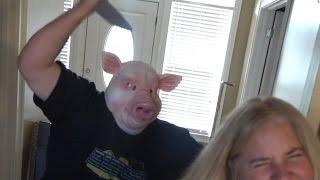THE PSYCHOTIC PIG MASK PRANK! thumbnail