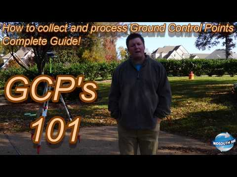 GCP's 101 | Ground Control Points Complete Guide | How to collect and process for Drone Mapping