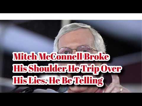 Aide: Sen Mitch McConnell trips, breaks shoulder in Kentucky