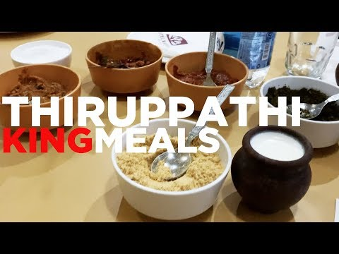 A King Size Lunch in Thiruppathi
