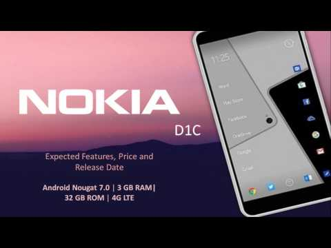 Upcoming Nokia D1C Price, Release Date and Features [Android Nougat 7.0, 4G VoLTE]