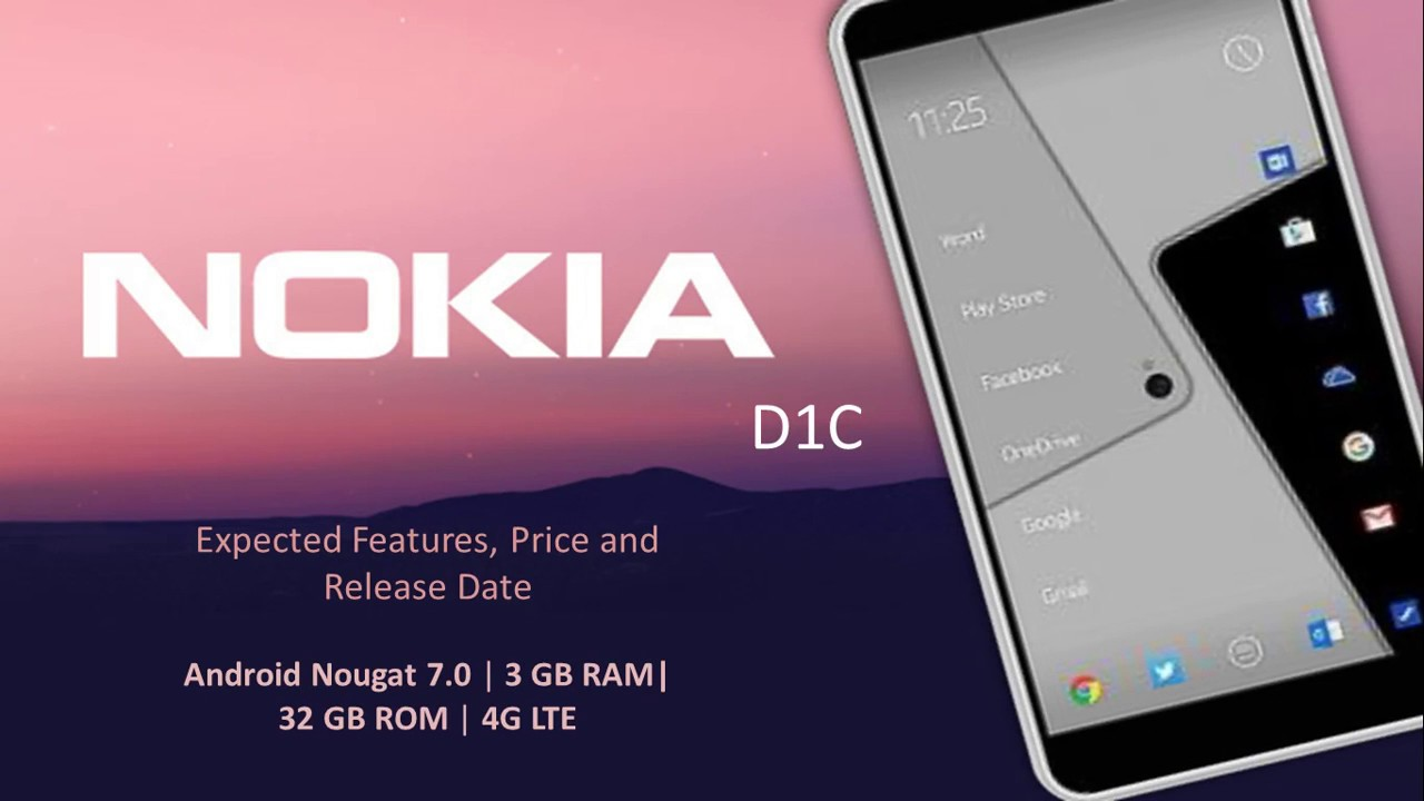 Phone Upcoming Phones Android upcoming nokia d1c price release date and features android nougat 7 0 4g volte