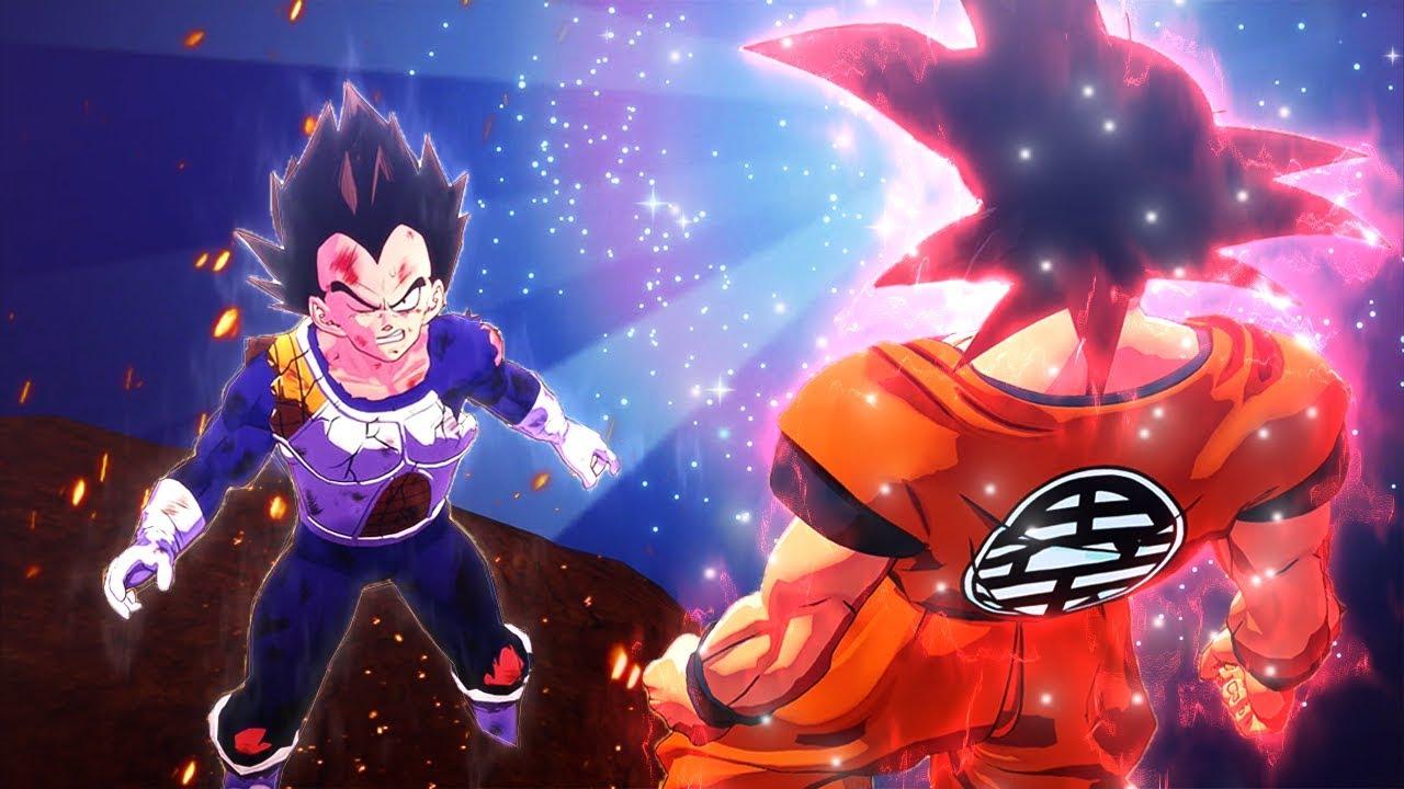 Goku's New Surging Kaioken In Dragon Ball Z Kakarot