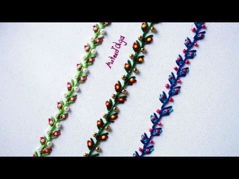 Hand Embroidery: Decorative Stitches 4  Bordados a mano: Puntadas Decorativas 4  ArtesdOlga