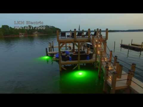 Pier Power and Lighting by Lake Norman Electric