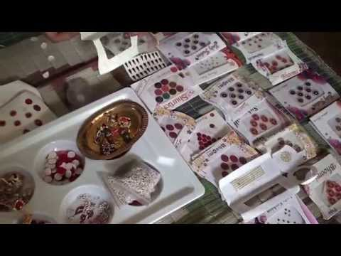 Women   Bindi training making by mousumi part 01