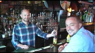 Enjoying The Malort At Green Door Tavern - Bucket List Bars