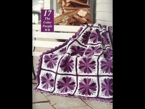 Crochet Patterns For Free Crochet Blanket Squares 2400 Youtube